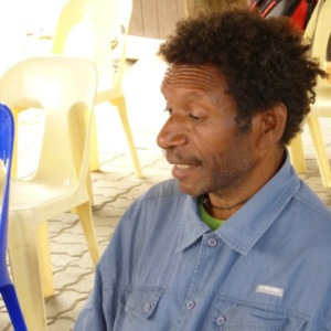 Gideon Warite - Oral History interview recorded on 3 September 2014 at PNG National Museum and Art Gallery, Waigani, NCD, PNG