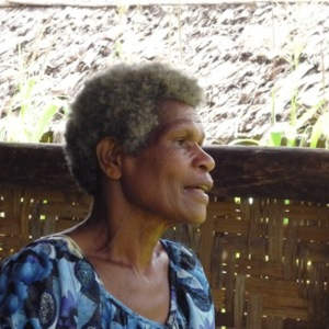 Vavaga Marina - Oral History interview recorded on 4 July 2014 at Kagi, Central Province, PNG
