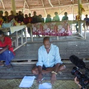 Stonewigg Haita - Oral History interview recorded on 20 May 2014 at Hanau, Northern Province, PNG