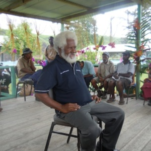 Maclaren Hiari - Oral History interview recorded on 7 July 2014 at Karakadabu/Depo, Central Province, PNG