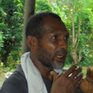 Adrian Boitewa - Oral History interview recorded on 24 March 2017 at Gamadoudou, Milne Bay Province
