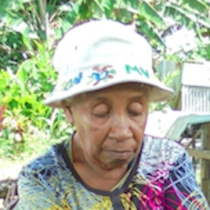 Norah Bate - Oral History interview recorded on 06 April 2017 at KB Mission, Milne Bay Province
