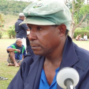 Recks Ea'ah - Oral History interview recorded on 7 July 2014 at Karakadabu/Depo, Central Province, PNG