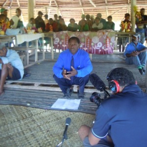 Dennis Itari - Oral History interview recorded on 20 May 2014 at Hanau, Northern Province, PNG