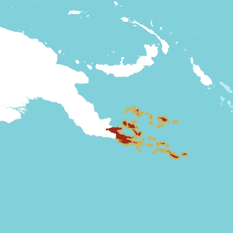 Milne Bay Province Map