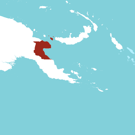 Morobe Province Map