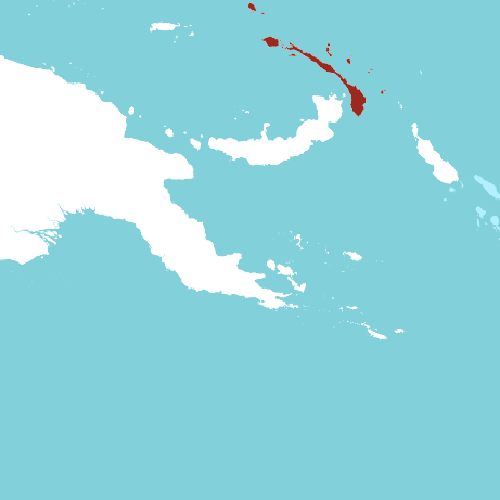 New Ireland Province Map